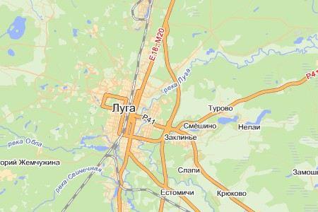 В Ленинградской области школьный автобус столкнулся с грузовиком. Пострадали 6 человек.