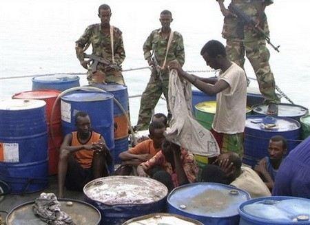 Пираты захватили еще одно нефтяное судно в Гвинейском заливе. 24 члена экипажа находятся в плену