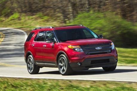 Ford Explorer Sport –мощный зверь