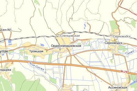 В Ингушетии в станице Орджоникидзевская взорвали автомобиль вместе с полицейским.