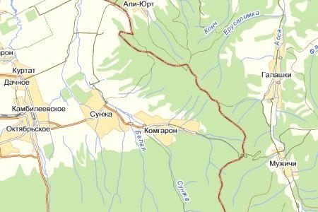 В некоторых районах Северной Осетии введен режим контртеррористической операции.