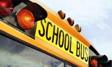 В Финляндии школьный автобус столкнулся с грузовиком.