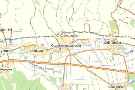 В Сунженском районе Ингушетии перевернулся автомобиль Тигр. Пострадали 9 человек.