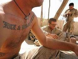 В Америке регламентировали размер татуировок для военных летчиков