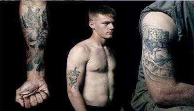 Такие татуировки придется выводить