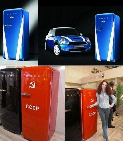 Холодильник-воспоминание об СССР