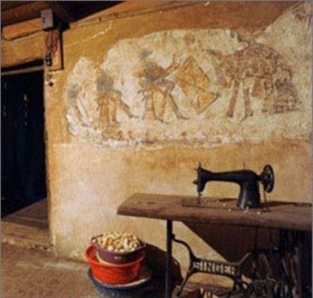 На кухне в деревенском доме нашли старинные фрески майя