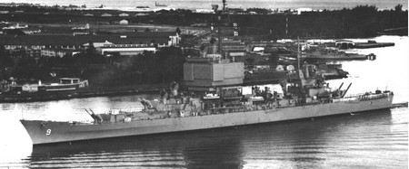 Первый атомный ракетный крейсер «Лонг Бич» распилят и пустят на металлолом.