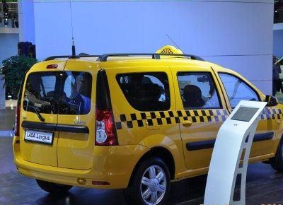 Такси LADA Largus представили на Московском автосалоне