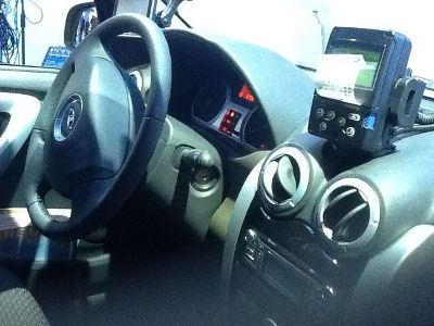 Такси LADA Largus: вид салона авто