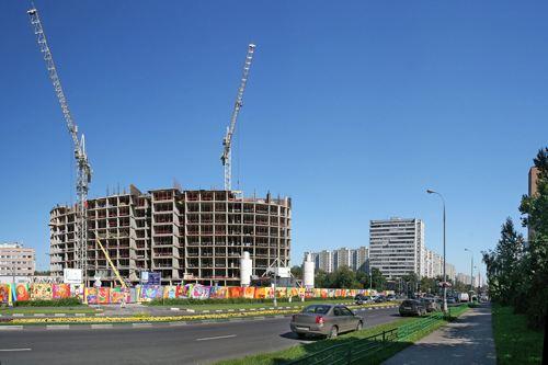 В 2012 году в России уже построено более 345 тысяч квартир
