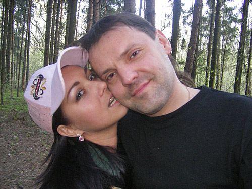 Григорий Малыгин с женой Викторией