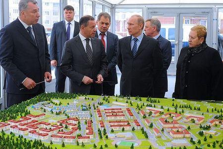 Объемы строительства жилья в России растут