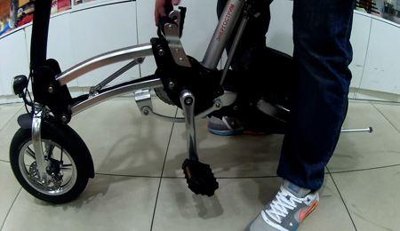 Компания «Энергострим» продемонстрировала экологичный велосипед