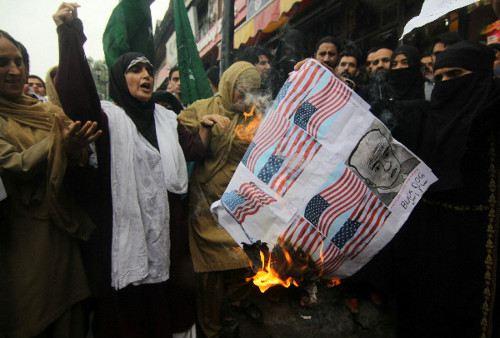 Невиновность мусульман вызвала волну протестов