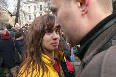 Движение «Народный собор» хочет засудить Надежду Толоконникову из Pussy Riot за акцию в Биологическом музее, которая состоялась в марте 2008 года