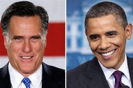 В США прошли первые теледебаты кандидатов в президента Ромни и Обамы. Опрос показал, что Ромни понравился 46% зрителей, Обама - 45%.