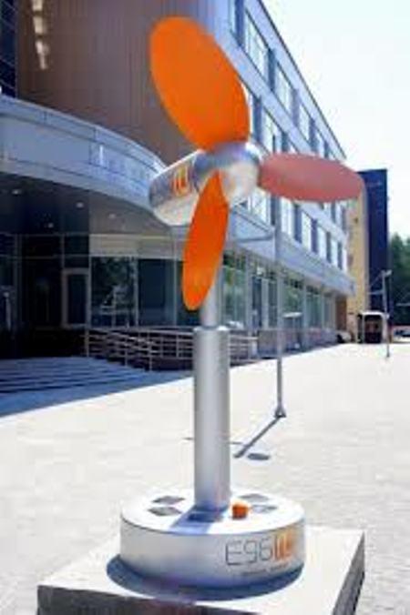 Памятник вентилятору