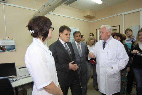 Губернатор Тульской области Владимир Груздев с рабочей поездкой побывал в Новомосковске