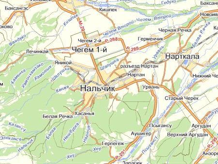 В Кабардино-Балкарии в части Чегемского района, а также в поселке Белая речка в пригороде Нальчика введен режим КТО.