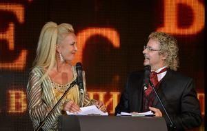 Ведущие церемонии - Ольга Татаринова и Андрей Билль