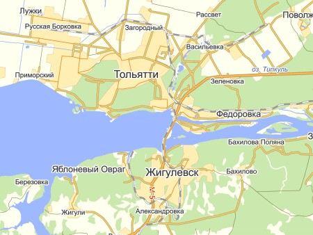 Под Самарой у города Жигулевск столкнулись 9 автомобилей. 1 человек погиб, еще 3 получили ранения.