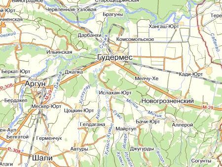 В Чечне без света остались 5 сел в Гудермесском районе