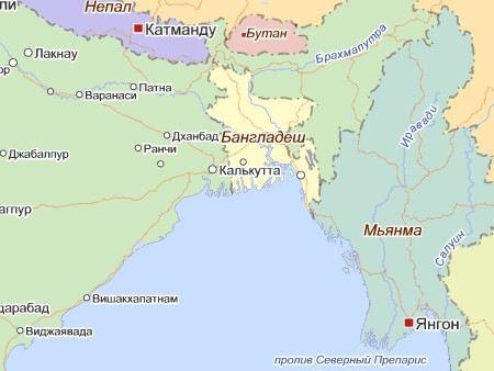 В Банглашед после сильного шторма попали без вести от 1000 до 1500 тысяч рыбаков.
