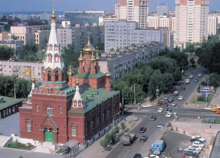 Старинный город Пермь