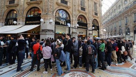 В городе Милан в Италии McDonald`s намерен оспорить закрытие своего ресторана через суд.