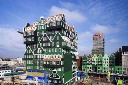 Необычный отель в Голландии
