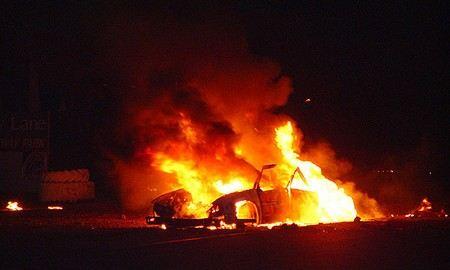 В Новосибирске 47-летний мужчина заживо сгорел в запертой машине ППС, когда сотрудники полиции отлучились на 15 минут.