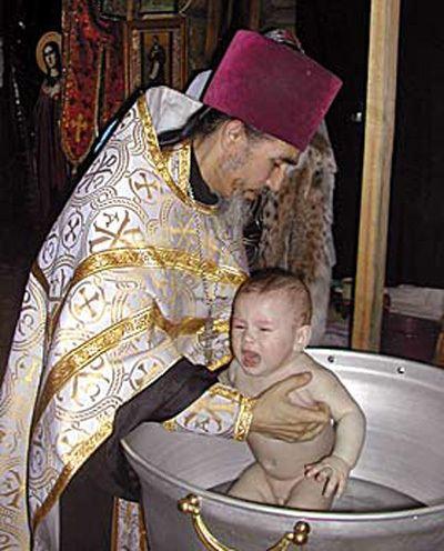 Крещение Гоши Захарова
