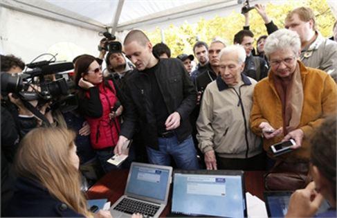 В России выбирают Координационный совет оппозиции