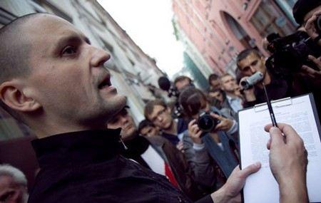 Еще одним подозреваемый по делу об «Анатомии протеста» и организации массовых беспорядков может стать еще один активист движения «Левый фронт» Константин Косякин.