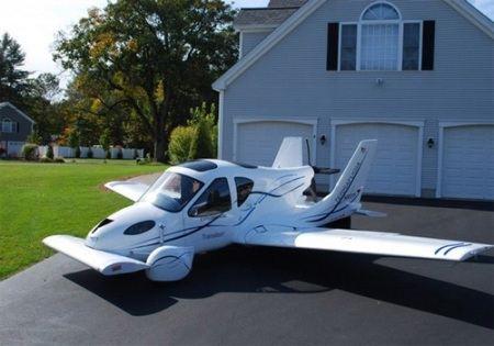 Самолет-автомобиль позволит постоянно жить за городом