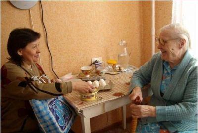 Забота о стариках - наш святой долг