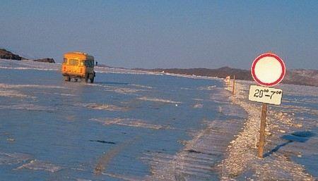 МЧС сообщили о том, что зимой в России будет организовано 983 ледовые переправы.