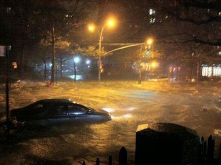 В США бушует ураган Сэнди