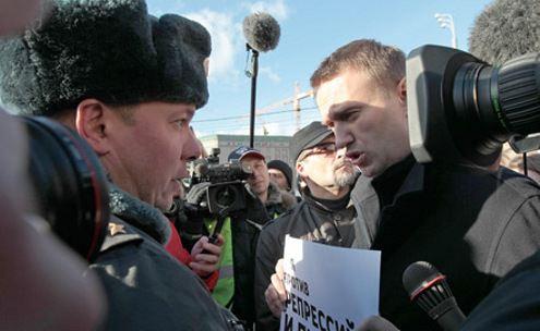 Навальный. Никакой акции не было