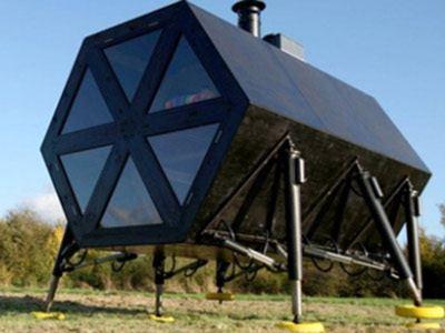 Датский дом с треугольными окнами