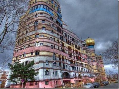 Жилой комплекс Лесная спираль в Дармштадте