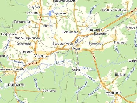 В Уренском районе Нижегородской области при пожаре погибли трое детей.