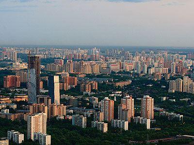Новая Москва стремительно застраивается