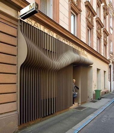 Трехмерный дизайн австрийской парикмахерской