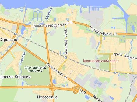 В Красносельском районе Санкт-Петебурга произошло ДТП, в котором столкнулись маршрутка и трактор, пострадали 9 человек.
