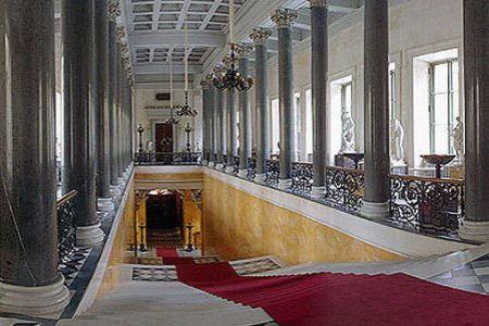 Николаевская лестница Зимнего Дворца