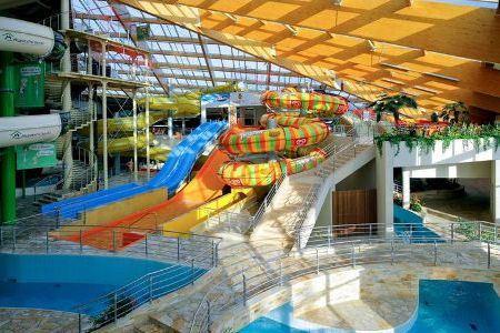 Чешский аквапарк Аквапалас