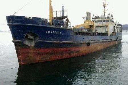 На дне Охотского моря найден сухогруз «Амурская».