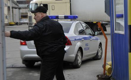 Массовый расстрел в Москве